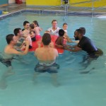 Baby and toddler swimming lessons in Morden